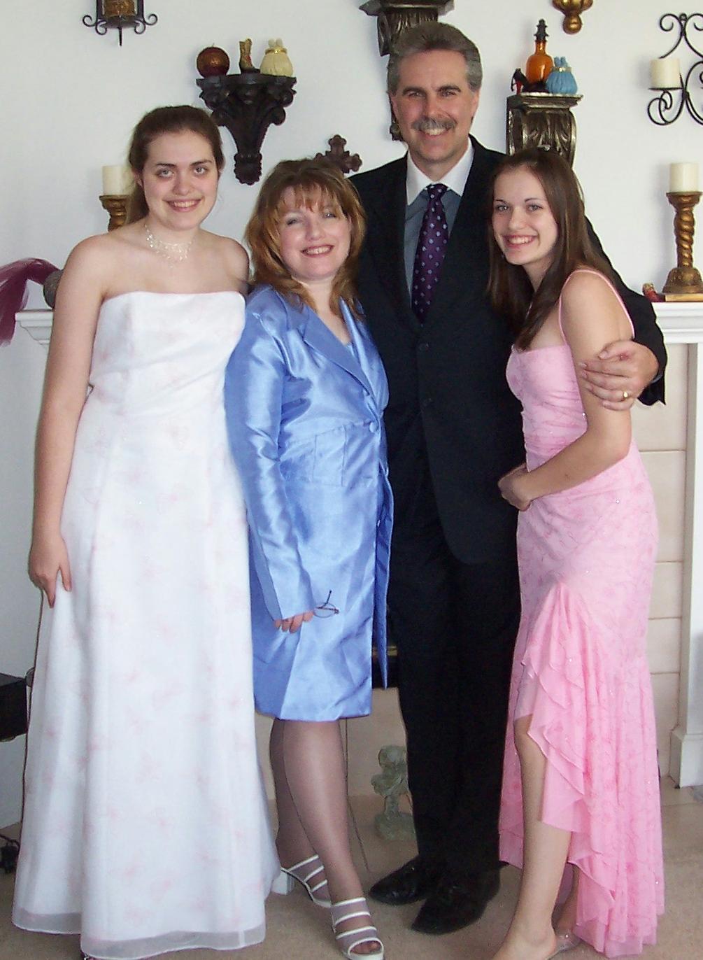 The Rigney Family Easter 2005
